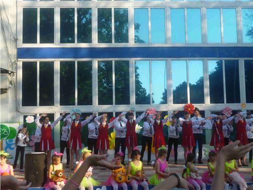 Открытие летнего сезона детских оздоровительных центров.